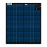 Flexibles salzwasserfeste Solarzellen 80 Watt 12 Volt 3mm dünn nur 3.7 kg