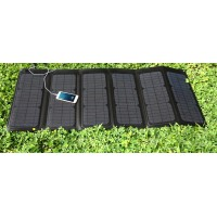 60 watt portable solar collapsible