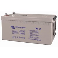 Batteria al piombo esente da manutenzione AGM da 12 Volt, 220 Ah C 20 per duri cicli di funzionamento