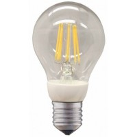 LED 12V-24 V 800 Lumen E27 Glühbirne warm Filament