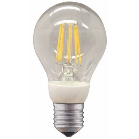 LED 12V-24 V 800 Lumen E27 Glühbirne warm Filament