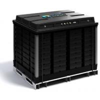 Batteria all'acqua salata da 48 Volt, 540 Ah, 120 Ampere con BMS integrato