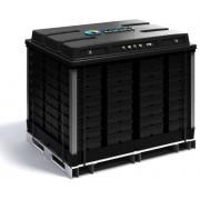 Batterie lithium-ion 12V 40Ah 200A avec BMS chargeur 230V intégrée incl.