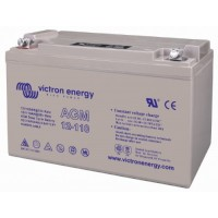 Maintenance-free AGM lead battery12V 110 Ah C20 for hard cycle operation