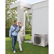 Riscaldamento a pompa di calore super efficiente COP 5,7 capacità di riscaldamento 15 kW