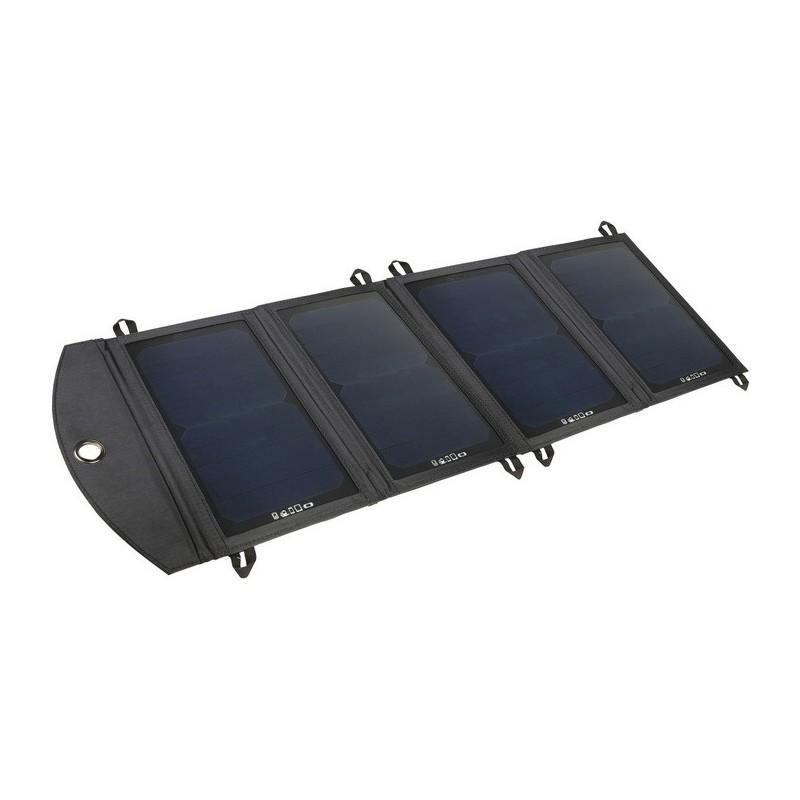solar ladeger t 21 watt 2xusb zusammenlegbar f r unterwegs. Black Bedroom Furniture Sets. Home Design Ideas