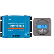 Solar battery MPPT charge controllers 100V 30 Amp with display