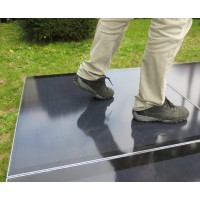 Plug&Play Kit Solar Bodenbelag 12.8 m2 2040 Watt inkl. Fi Typ B inkl. Handy-App