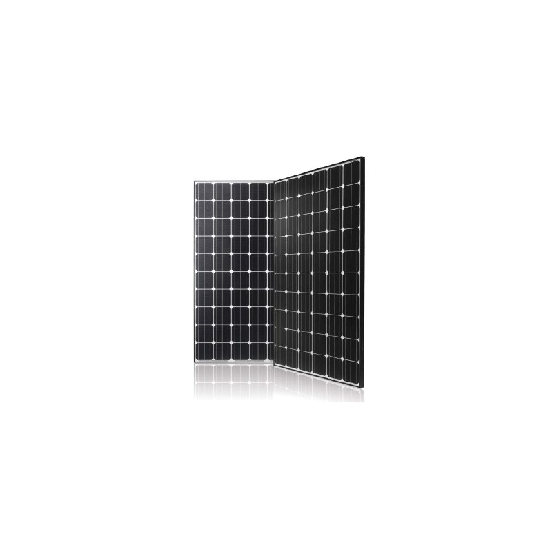 20 high-performance solar module LG MonoX NeoN 370 Watt Mono (Total 7400  Watt)
