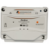 Morningstar ProStar PS-15 solar charge controller, 250/500 W, 15 A, 12/24 V, Tiefentl.