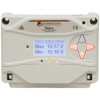 Morningstar ProStar PS-15M Solar Charge Controller, 250/500 W, 12/24 V, Tiefentl., LCD