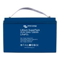 Batteria smart Blueline ai polimeri di litio da 25.6 Volt, 50 Ah