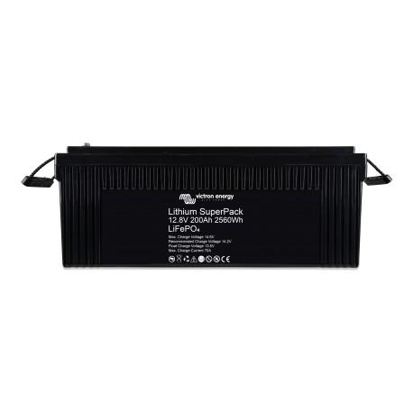Batteria smart Blueline ai polimeri di litio da 12 Volt, 200 Ah