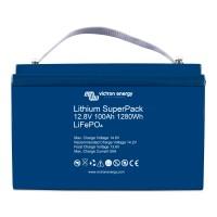 Batteria smart Blueline ai polimeri di litio da 12 Volt, 100 Ah