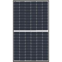 Solarmodul 24 Volt 370 Watt schwarzer Rahmen