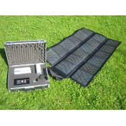 Carrying Case with Solar Energy