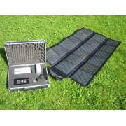 Valise avec energie solaire