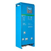 Combined inverters / battery chargers with MPP controller and AC power distribution